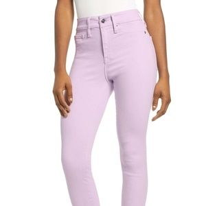 """Good American """"Good Legs Crop"""" high waist Jeans"""